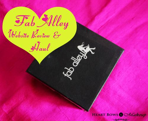 Get Fabulous With Faballey: Website Review & Haul!