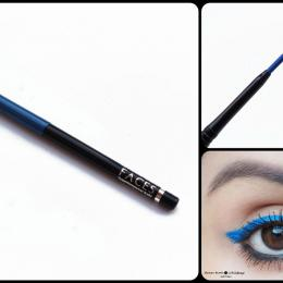Faces Canada Superlongwear Kohl Persian Blue Review, Swatches & Eyemakeup