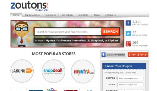 Zoutons Website Review: One Stop Shop For Tempting Discounts!