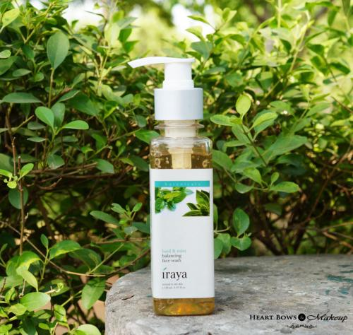 Iraya Basil & Mint Balancing Face Wash Review