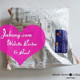 Jabong Website Review & Haul