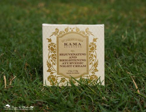 Kama Ayurveda Rejuvenating & Brightening Night Cream Review