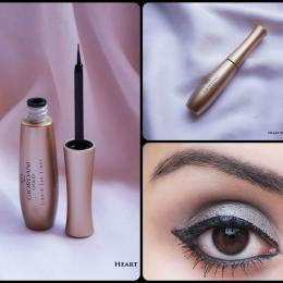 Oriflame Giordani Gold Liquid Eye Liner 'Shiny Black' Review & Swatches