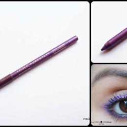 Lotus Herbals Purestay Eye Contour Definer Royal Orchid Eye Pencil Review, Swatches & Eyemakeup