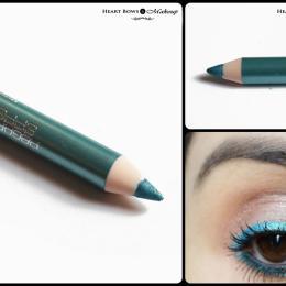 Bourjois Effet Metallise Metallic Eyeliner Vert Pepite Review & Swatches
