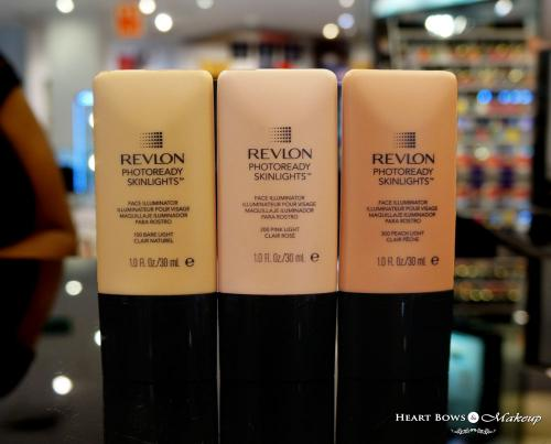 Revlon Photoready Skinlights Face Illuminator Swatches & Price India