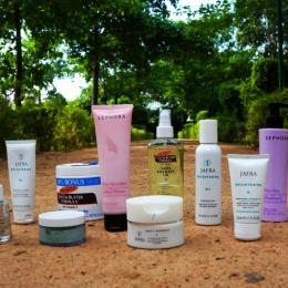 My Current Skincare Routine For An Even Skintone + Bath & Body Products!