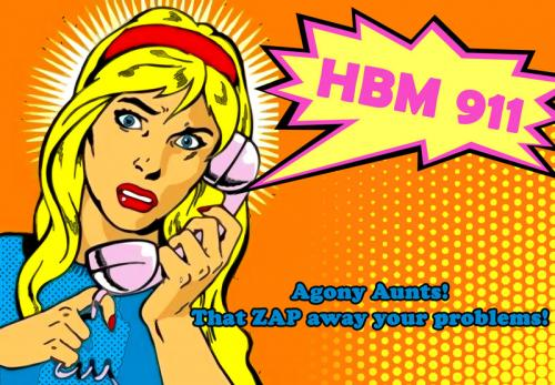 HBM 911 With Your Favorite Agony Aunts, Lia & Mia!
