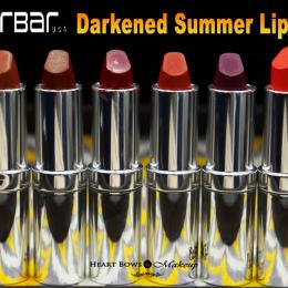 Colorbar Darkened Summer Lipstick Swatches & Price