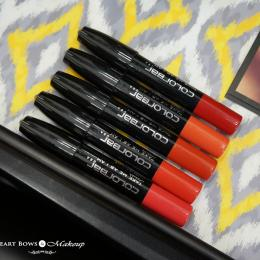 New Colorbar Take Me As I Am Lip Crayon Swatches & Shades