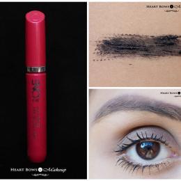 Oriflame The One Volume Blast Mascara Review, Price & Eyemakeup