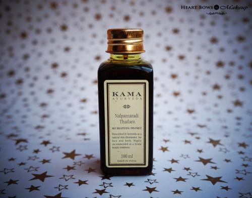 Kama Ayurveda Nalpamaradi Thailam Review & Price