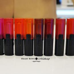New L'Oreal Infallible Lipstick Swatches & Shades