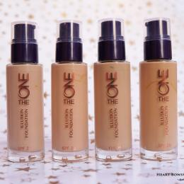 Oriflame The ONE IlluSkin Foundation Review, Swatches & Price