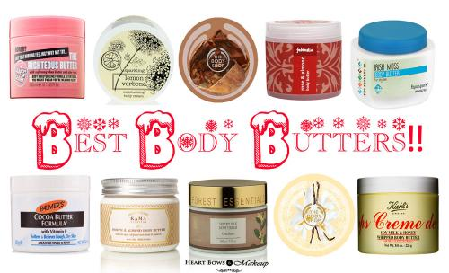 Best Body Butters For Winters!