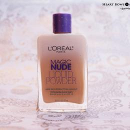 L'Oreal Paris Magic Nude Liquid Powder Foundation Review & Swatches
