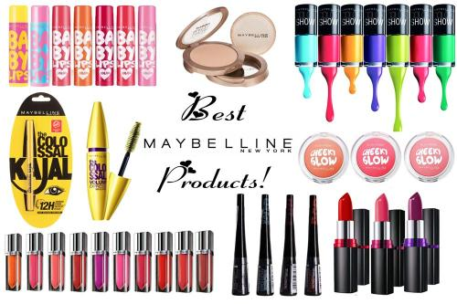Best Maybelline Products -Top 10!