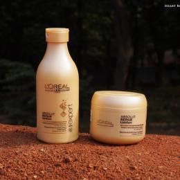 L'Oreal Professional Absolut Repair Lipidum Shampoo & Masque Review