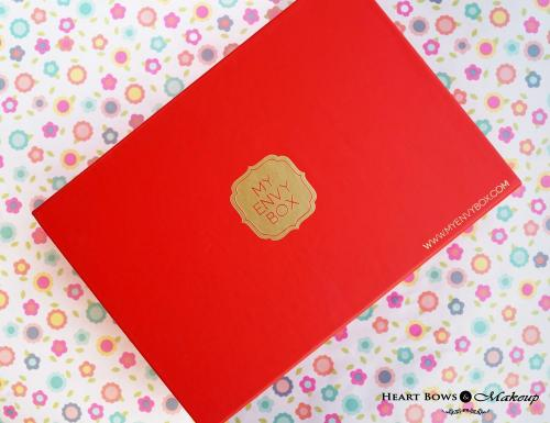 My Envy Box January 2015 Review, Products & Price