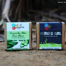 Burst Of Happyness Working Gurl + Cucumber Aloe & Rice Soap Review & Price
