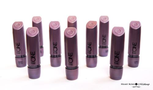 Oriflame The ONE Matte Lipstick Review, Swatches & Price India