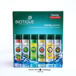 Biotique Travel Smart Kit Review, Products & Price