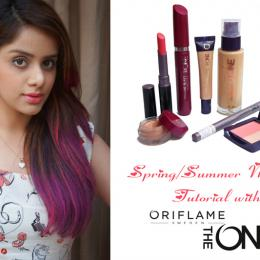 Easy Spring/Summer Makeup Tutorial with Oriflame The ONE Products!