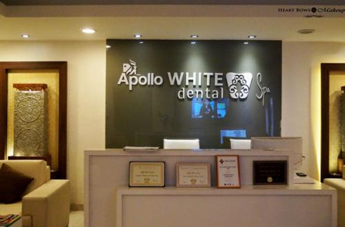 Laser Teeth Whitening at Apollo White Dental Spa, Delhi