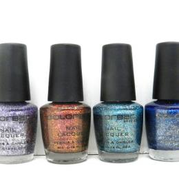 Colorbar Pro Darkened Summer Nail Polish Kit Review, Swatches & NOTD