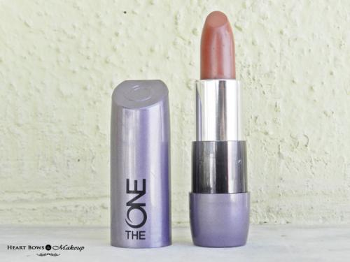 Oriflame The ONE Matte Lipstick Desert Sand Review & Swatches