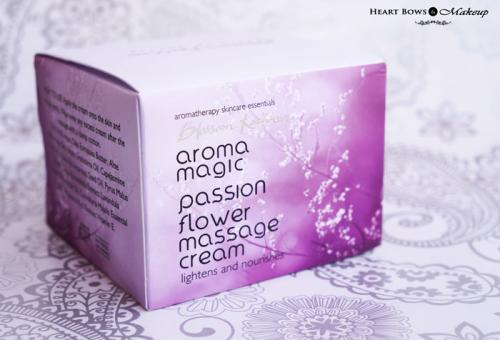 Aroma Magic Passion Flower Massage Cream Review, Price & Buy India