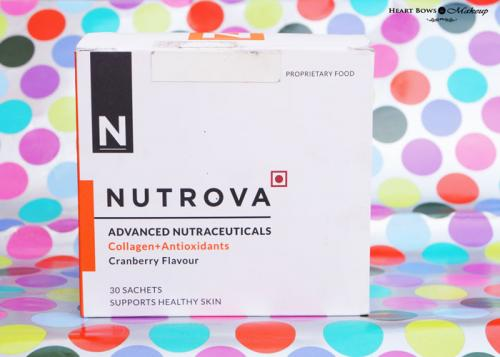 Nutrova Collagen + Antioxidants Supplement Review, Price & Buy Online