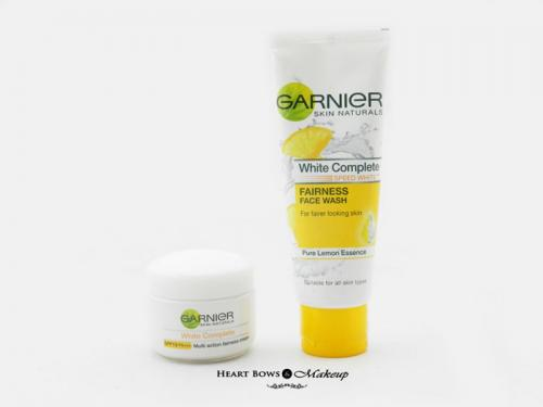 Garnier White Complete Fairness Face Wash & Cream Review, Price & Buy India