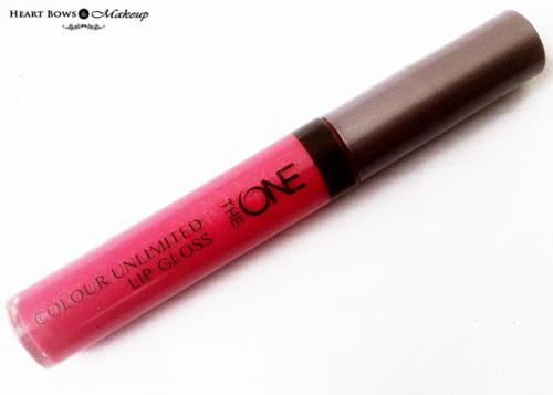 Oriflame The ONE Colour Unlimited Lip Gloss Very Fuchsia Review & Swatches