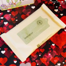 Innisfree Green Barley Multi Cleansing Tissue Wipes Review, Price & Buy India