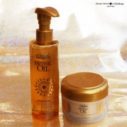 L'Oreal Professional Mythic Oil Shampoo & Nourishing Masque Review, Price & Buy India