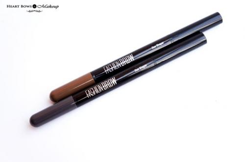 Maybelline Fashion Brow Duo Shaper Brown & Grey Review, Swatches & Price India