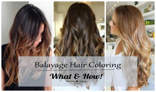 Balayage Hair Coloring Technique : What, How & Where To Get It Done in Delhi, India!