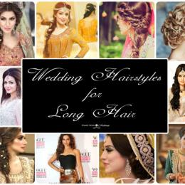 Wedding Hairstyles For Long Hair-Trendy & Pretty Hair Dos!