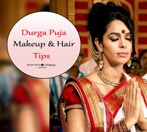 Makeup & Hair Tips To Look Fabulous This Durga Puja