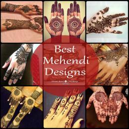 Latest Mehendi Designs For Hands!