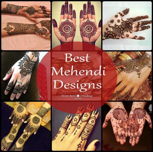 Latest Mehendi Designs For Hands!