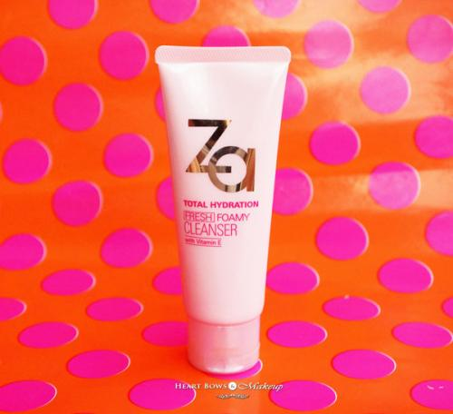 ZA Total Hydration Fresh Foamy Cleanser Review, Price & Buy India