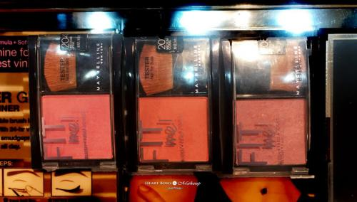 Maybelline Fit Me Blush Swatches, Price & Buy Online India