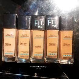 Maybelline Fit Me Matte + Poreless Foundation Swatches, Price & Buy Online India