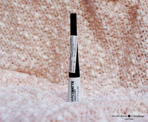 Maybelline Hyper Matte Liquid Liner Review, Swatches, Price & Buy Online India