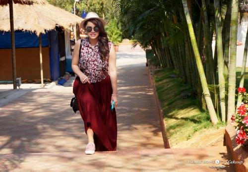 OOTD: A Laidback day feat Shilparamam, Hyderabad!