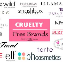 Cruelty Free Brands: Makeup, Drugstore, Skincare & Haircare!