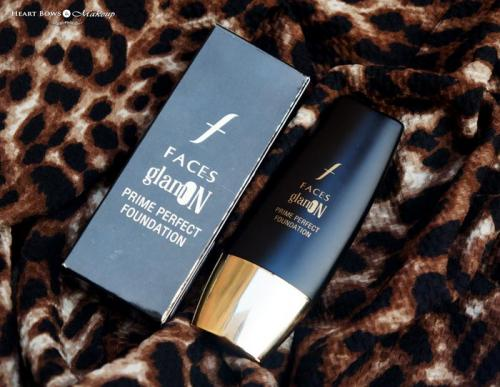 Faces Glam On Prime Perfect Foundation 02 Natural Review, Swatches, Price & Buy India