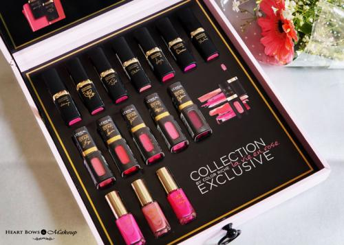 L'Oreal Paris La Vie En Rose Collection Star Pink Lipsticks, Lip Colors, Nail Paints Review, Swatches & Price